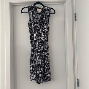 Kate Spade Black & White Polka Dot Summer Dress